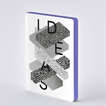 Nuuna Notizbuch A5 Graphic L IDEAS BY HEYDAY