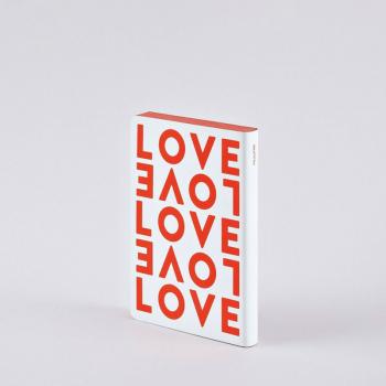 Nuuna Notizbuch A6 Graphic S LOVE