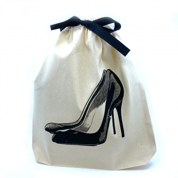 Bag All Leinentasche PUMPS black