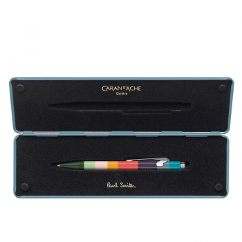 Caran d Ache 849 Kugelschreiber PAUL SMITH Etui Petrol blue