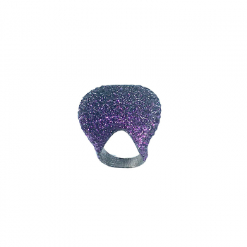 Kmo Cocktail Ring LIVIA purple