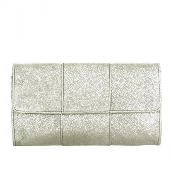 Knight & Roses CAROLINA Clutch silber