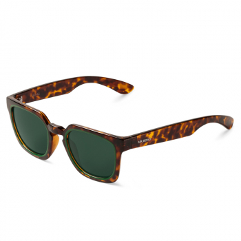 Mr. Boho Sonnenbrille SALESAS Green Cheetah Tortoise