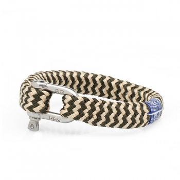 Pig & Hen Armband BOMBAY BARRY army-gold