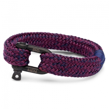 Pig & Hen Armband GORGEOUS GEORGE navy-purple