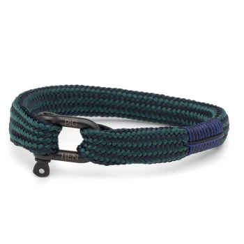 Pig & Hen Armband WHISKEY WILLY navy-petrol