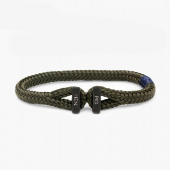 Pig & Hen Armband ICY IKE army | black