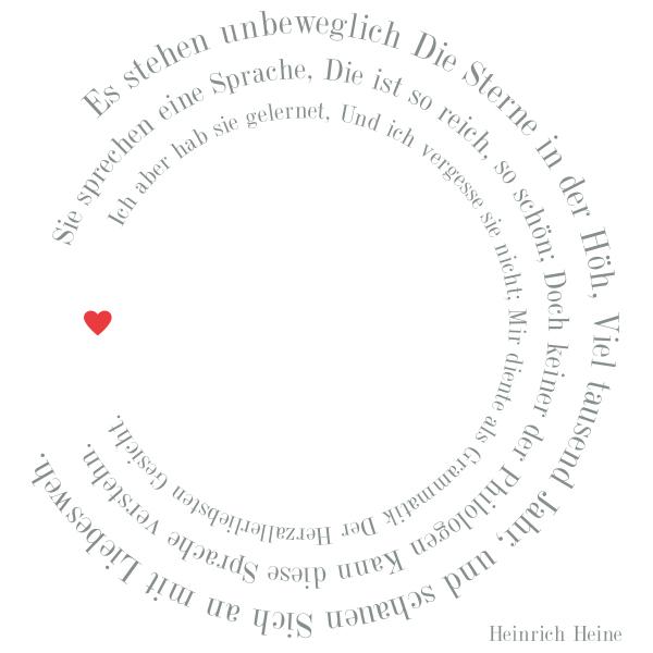 Trixi Gronau Liebesgedicht Hochzeitskarte