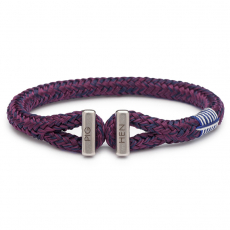 Pig & Hen Armband ICY IKE purple-navy